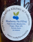 Blueberry Pie Filling 32 Ounces