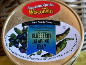 Blueberry Jalapeno Jelly 4 Ounces