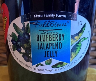 Blueberry Jalapeno Jelly 8 Ounces
