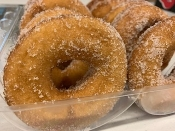 Old Fashioned Cake Donuts-Cinnamon